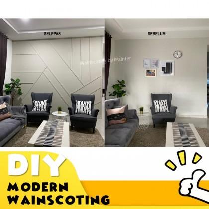 DIY Modern Wainscoting PU