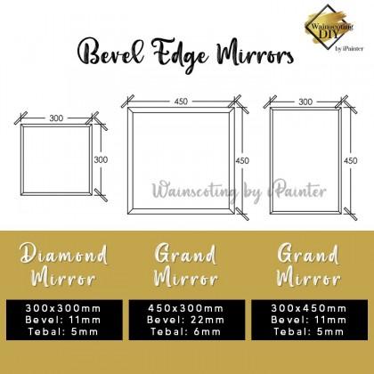 Bevel Edge Mirror (Per Pcs)